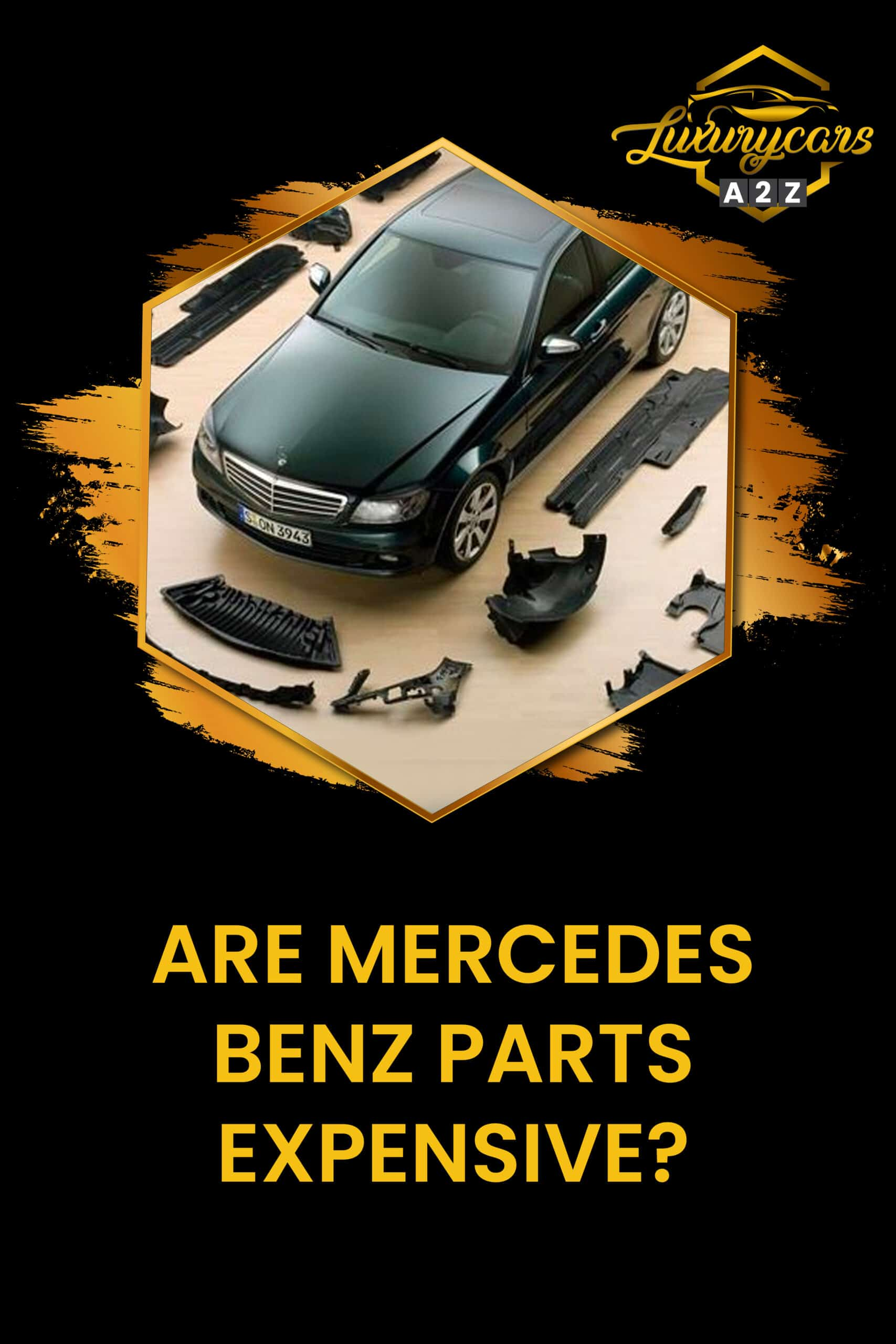 Are Mercedes Benz parts expensive?