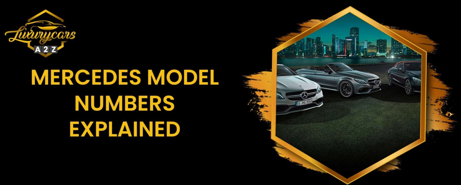 mercedes model numbers explained