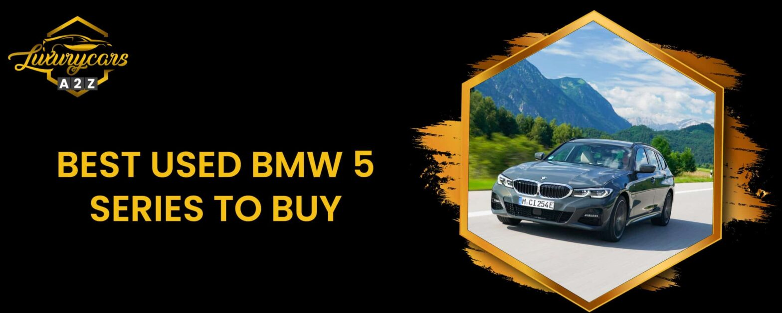 best used bmw 5 series to buy