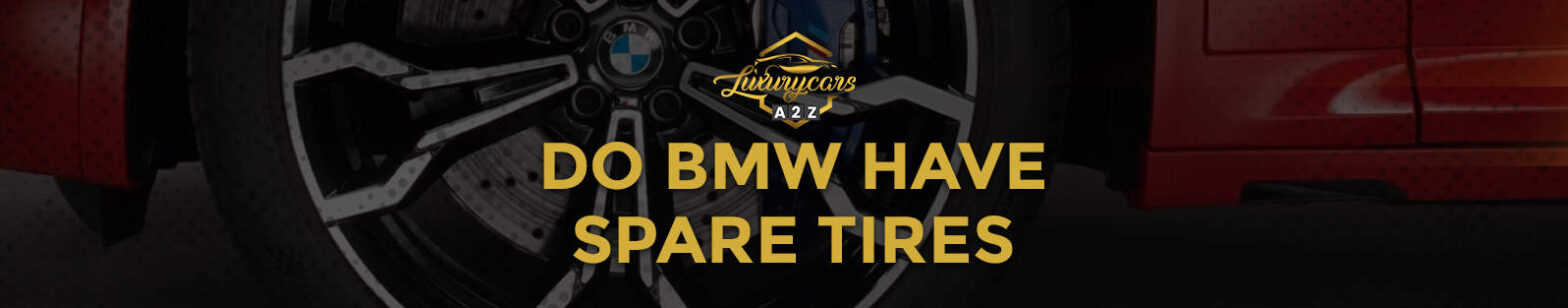 do bmw have spare tires