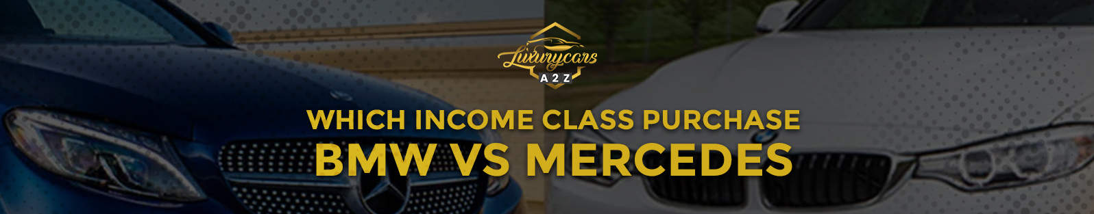 which income class purchase bmw vs mercedes