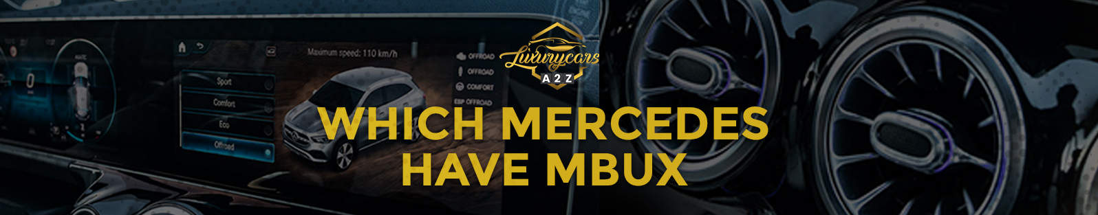 which mercedes have mbux
