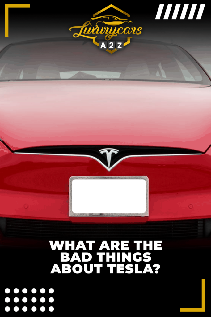 What are the bad things about Tesla?