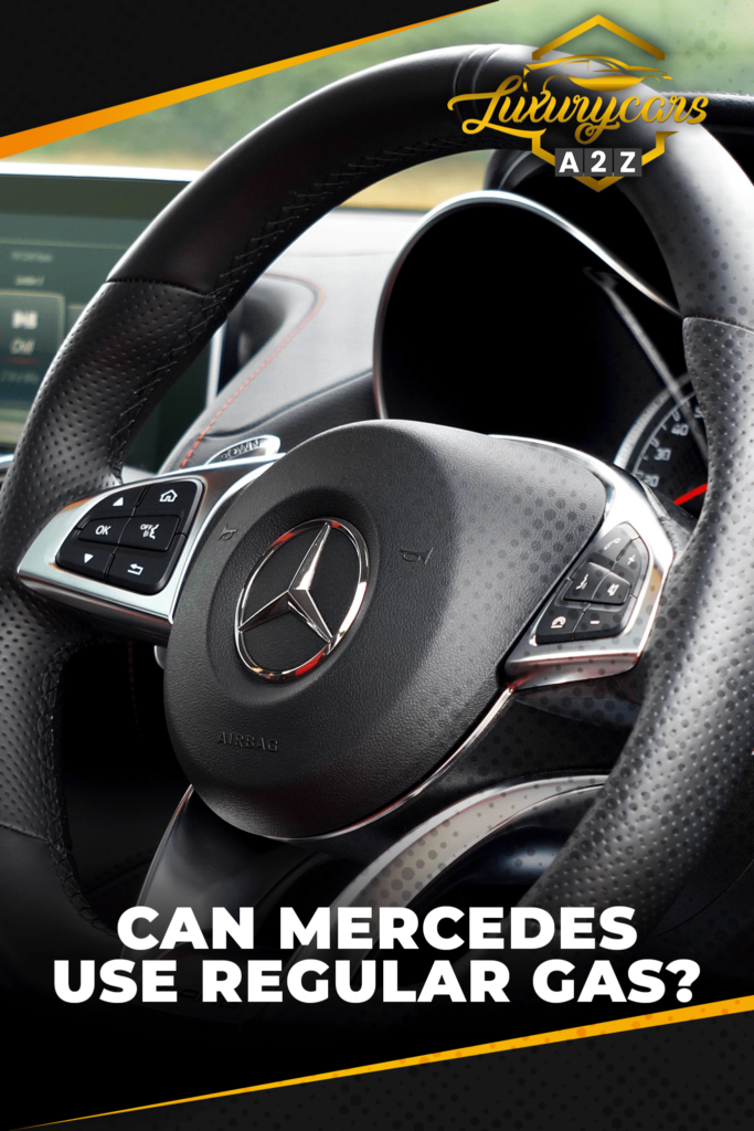 can mercedes use regular gas
