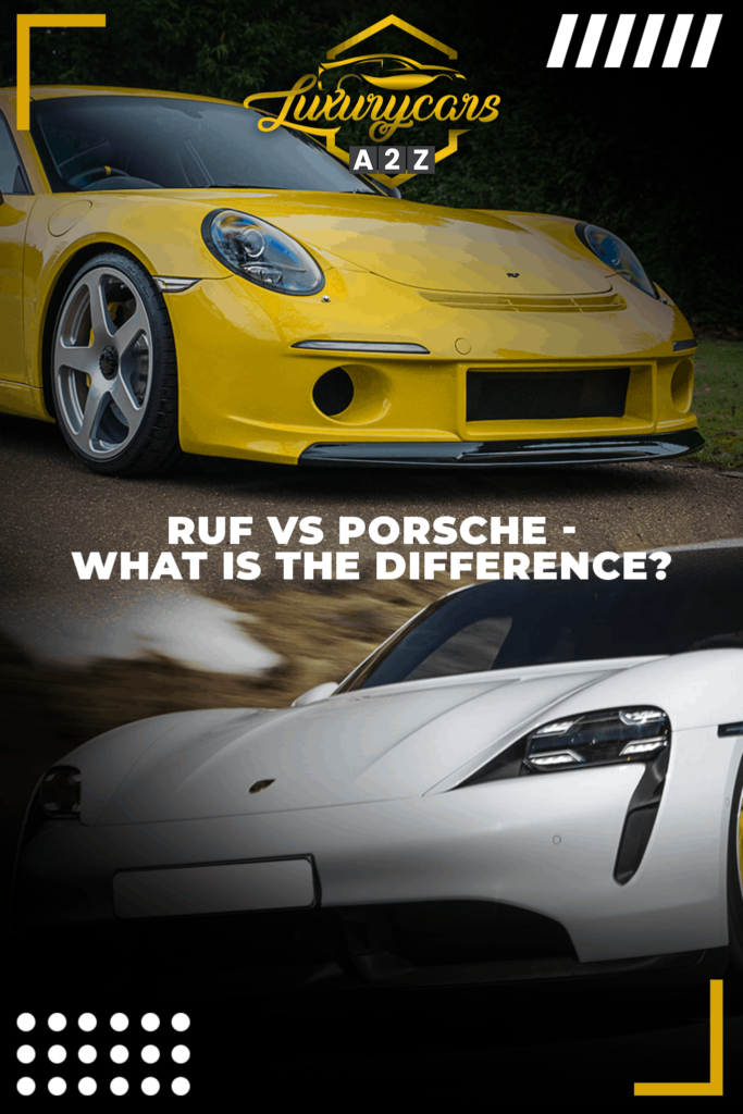 ruf vs porsche - what is the difference