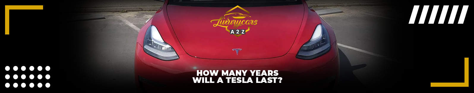 How many years will a Tesla last?
