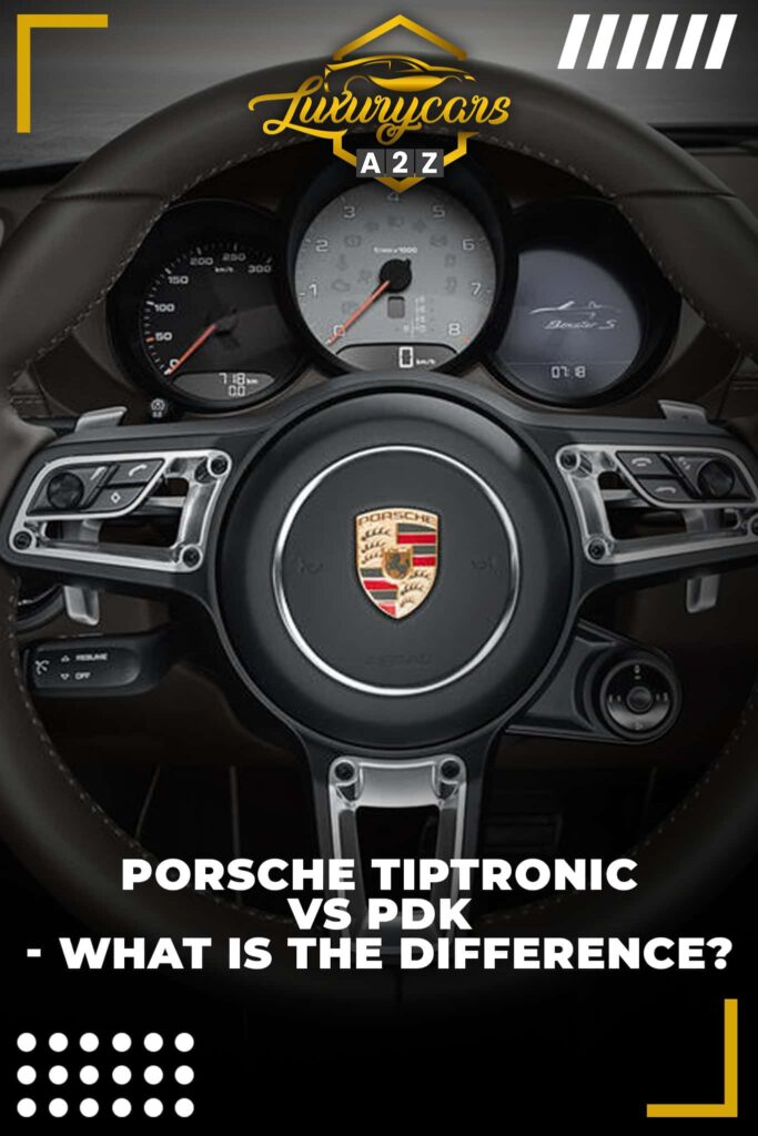 Porsche Tiptronic vs. PDK - what is the difference?