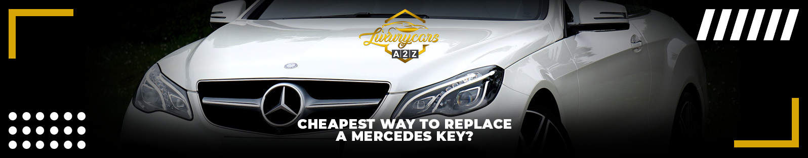 cheapest way to replace a mercedes key